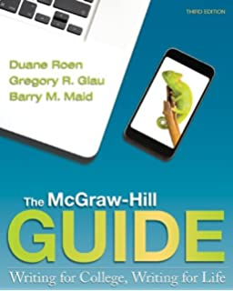 The mcgraw hill guide writing for college writing for life duane the mcgraw hill guide writing for college writing for life fandeluxe Image collections