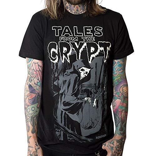 - Kreepsville 666 Tales from The Crypt Grim Reaper T-Shirt XL Black