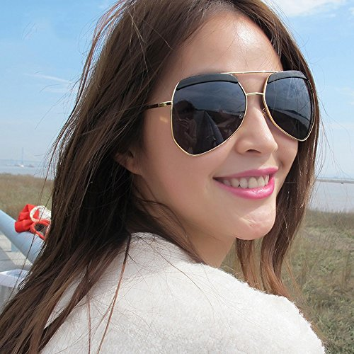 ZHIRONG Gafas sol de de sol protección la la sol luz Gafas de la de polarizada Gafas de de de irregular de 01 lib alta de al aire moda la viaje sol pareja la de la personalidad definición de las gafas de qEqrw5d