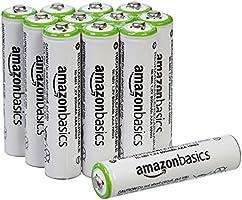 AmazonBasics Baterías recargables AAA Prerecargadas