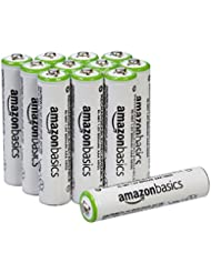 AmazonBasics AAA Rechargeable Batteries (12-Pack) - Packaging...