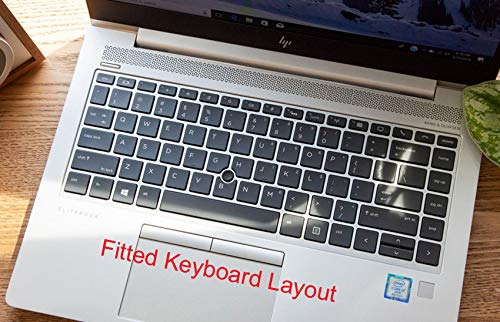 Ultra Thin Keyboard Cover Protector Skin for HP EliteBook 745 G5 HP ZBook 14u G5 Mobile Workstation 840 G5 Notebook With a Track-Point on Keyboard