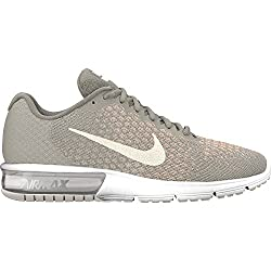 Nike Women's Air Max Sequent Running Shoes Pale Greysail-light Bone Size 9.5