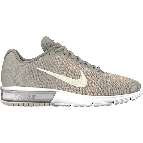c63c97121 Galleon - Nike Women's Air Max Sequent Running Shoes Pale Grey/Sail-light  Bone Size 10