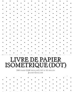 Assez Amazon.fr - Isometrique - Papier a Dessin 3-D: 200 pages (100  IX33