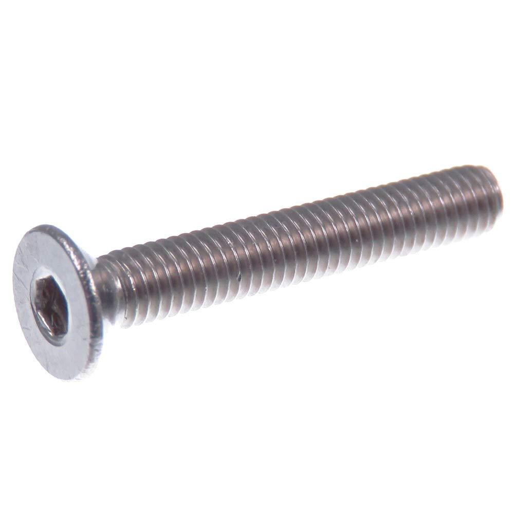 acero inoxidable V2A VA A2 DIN 7991 // ISO 10642 20 piezas z/ócalo hexagonal Tornillo avellanado SECCARO M3 x 20 mm