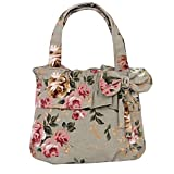 Hipytime BHB880420C4 New Style Canvas Sweet Lady Women's Handbag,Cylindrical Fold Package offers