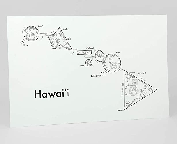Amazon com: Hawaii Map 12