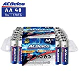 ACDelco AA Batteries, Super Alkaline AA Battery, High Performance, 48 Count Pack