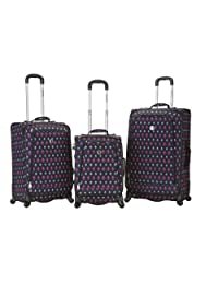 Rockland F180 Fusion Luggage Set, Icon, Medium, 3-Piece