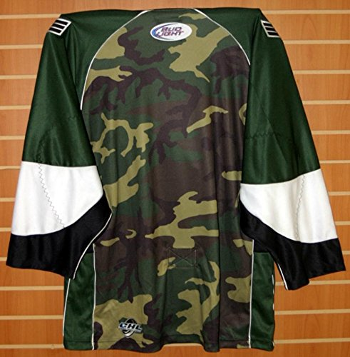 Amazon.com  Colorado Eagles CHL Authentic On Ice Game Issued Military Camo  Hockey Jersey - Size 54  Sports Collectibles 7e077d3ee