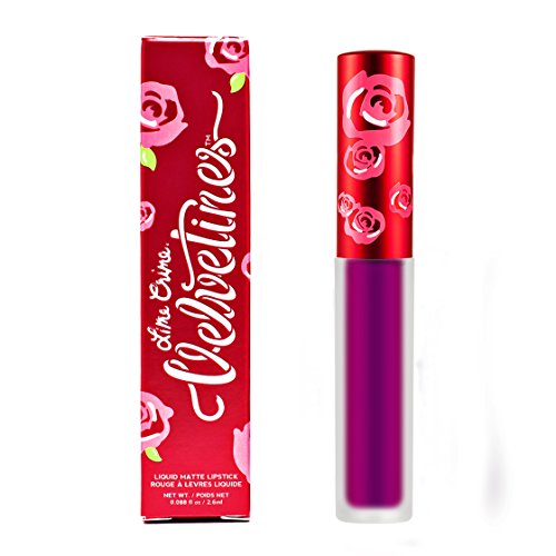 Lime Crime Velvetine PASSIONFRUIT. Long Lasting METALLIC FUCHSIA Liquid Matte Lipstick (0.088 fl oz / 2.6ml)