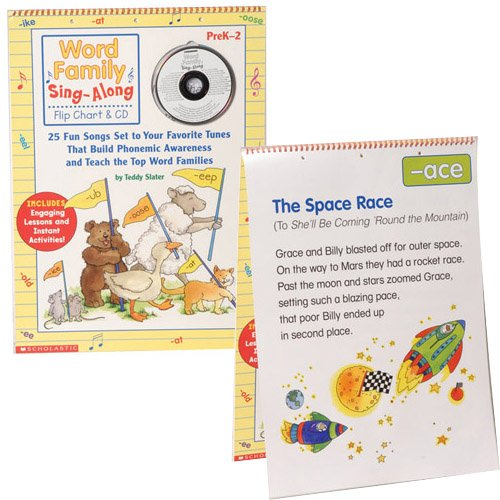 HarperCollins Word Family Sing-Along Flip Chart & CD