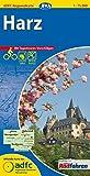 ADFC-Regionalkarte Harz mit Tagestouren-Vorschlägen, 1:75.000, reiß- und wetterfest, GPS-Tracks Download (ADFC-Regionalkarte 1:75000)