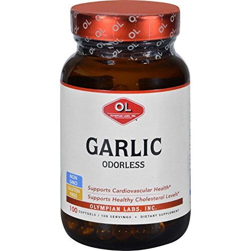 Olympian Labs Odorless Garlic Supplement, .4 Pound - Olympian Labs Garlic