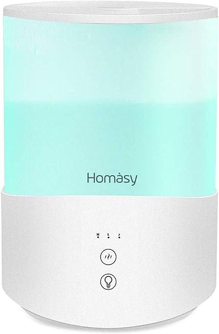 Homasy 2.5L Humidificador Aceites Esenciales, Humidificadores ...