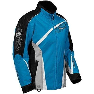 Castle X Charm G2 Women's Winter Snowmobile Riding Jacket (Large, Reflex Blue)