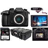 Panasonic Lumix DC-GH5 Mirrorless Camera Body- Pro FilmMaker Kit - V-Log L Function Firmware Upgrade Kit, Ikan