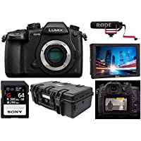 Panasonic Lumix DC-GH5 Mirrorless Camera Body- Pro FilmMaker Kit - V-Log L Function Firmware Upgrade Kit, Ikan