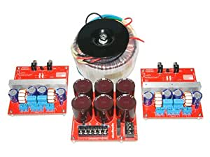 1000W RMS, 8 Ohm, Stereo Class D Power Amplifier Kit!