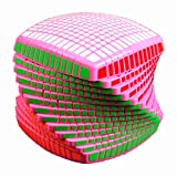 QTMY World First Mass Produced 13x13x13 Speed Magic Cube Puzzle Pink