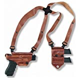 Galco Miami Classic II Shoulder System for 1911 5-Inch Colt, Kimber, Para, Springfield (Tan,...