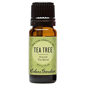Edens Garden Tea Tree Around the World, Essential Oil Synergy Blend, 100% Pure Therapeutic Grade, 10 ml