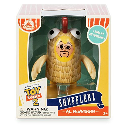 Disney Al McWhiggin Shufflerz Walking Figure - Toy Story 2 (Toy Story 2 Al The Toy Collector)