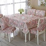 Shineland Beauty Ceramics Rectangular Cotton Tablecloth, 59 X 78 Inch (150 X 200 cm), Nice Red