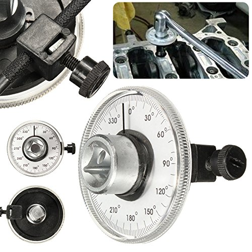 1/2'' Adjustable Wrench Drive Torque Angle Gauge Auto Garage Tool Set For Car Repair Hand Tools by Wrench Tool (Image #3)
