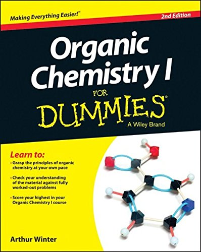 Series Organic (Organic Chemistry I For Dummies (For Dummies Series))