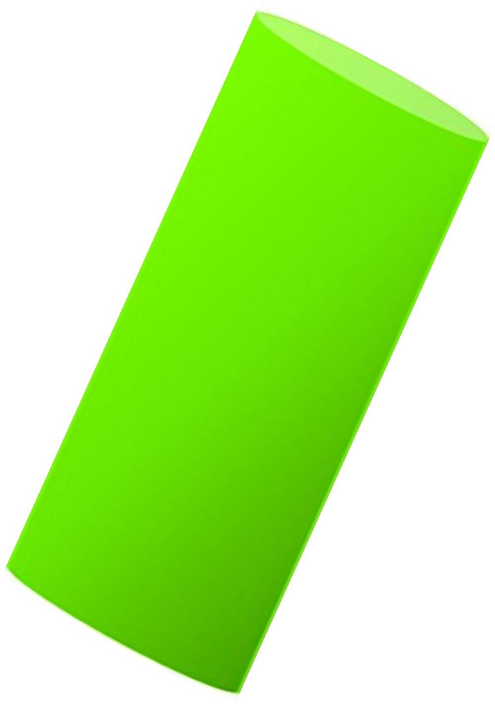 Siser EasyWeed Tシャツ用熱転写ビニール(HTV) 大幅コスト削減 12インチ(実寸法:11.8インチ)x10フィートロール DSI-1210F-F-Green B075M3KSM2 蛍光緑 蛍光緑