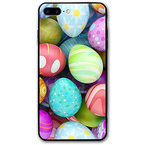 sensitives iPhone 8 Plus Case Beautiful Easter Eggs Slim Protective Cover Corner Cushion Design for Apple iPhone 8 Plus ()