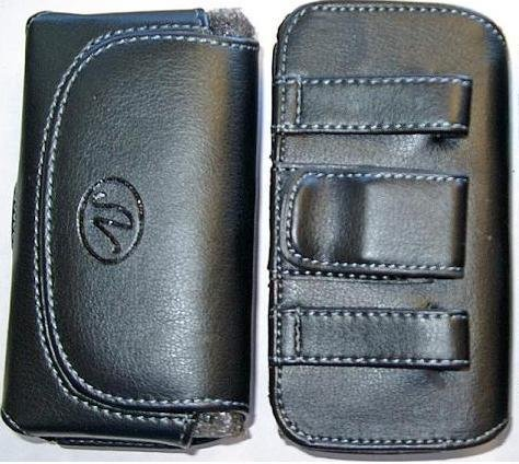 Barcelona Small PDA/ iPhone 3G / iPhone 4 size Universal Horizontal Cell Phone Case / Pouch / Holster with Belt Loop & Belt Clip ()