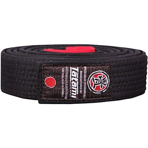 (Tatami Fightwear Adult BJJ Rank Belt - A3 - Black)