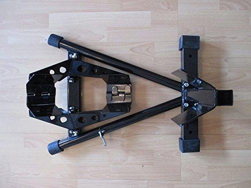 Motorrad-Transportsystem Transportständer für 16 Zoll-21 Zoll Reifen mit automatischer Reifen-Fixierung
