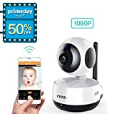 FREDI Wireless 1080P Ip Baby Camera WiFi Home Security Surveillance Camera for Baby/Elder/ Pet/Nanny Monitor, Pan/Tilt, Two-Way Audio & Night Vision