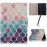 Capa Case Kindle (Paperwhite) Liga/Desliga Porta Cartões (Mosaico)