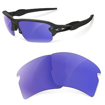 Sunglasses Restorer Lentes de Recambio Polarizadas Moradas para Oakley Flak 2.0