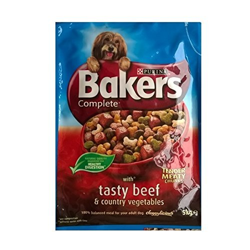 3 Bakers Complete with Tasty Beef & Country Vegetables 3 x 5kg bag