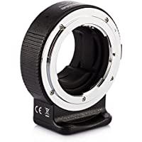 Commlite CM-ENF-E Lens Mount Adapter for Nikon F Lens to Sony E Mount Cameras with TARION Dust Cloth