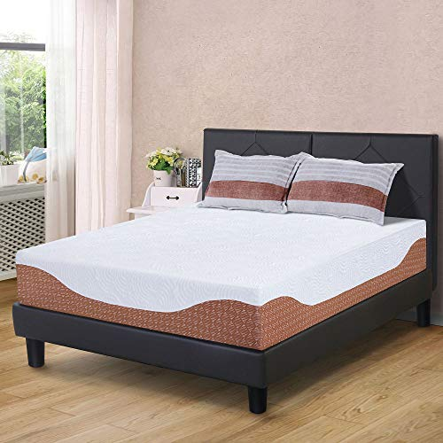 Primasleep 12 Inch Multi Layered I Gel Infused Memory Foam Mattress Cal King