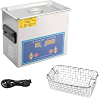Homgrace Ultrasonic Cleaner Commercial and Jewelry Ultrasonic Cleaner With Heater And Digital Control (1.3L)