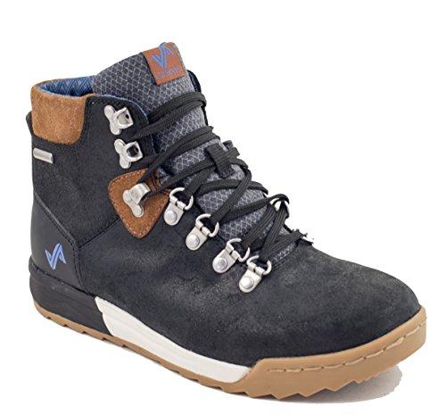 Forsake Patch - Women's Waterproof Premium Leather Hiking Boot (7, Black/Tan) by Forsake (Image #2)