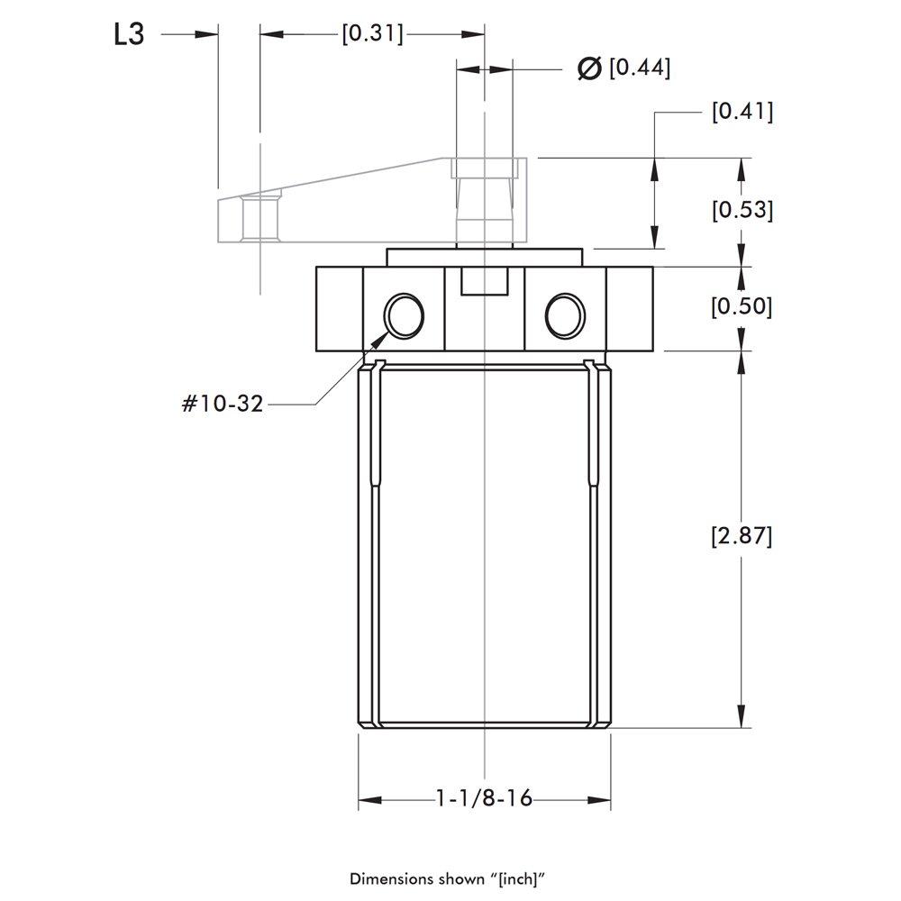 DE-STA-CO 8016 Pneumatic Swing Clamp