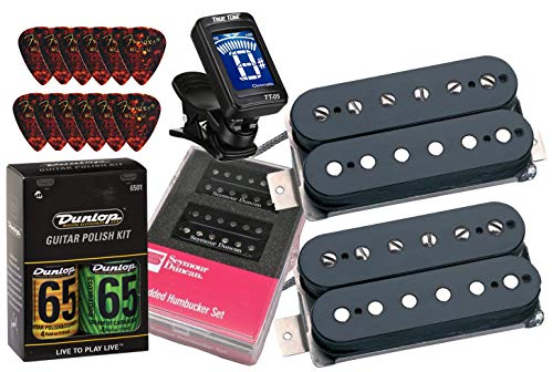 Seymour Duncan Hot Rodded Humbucker Matched Guitar Pickup Set with