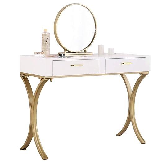 Amazon.com: Makeup Table Set Vanity Table Set with Mirror ...