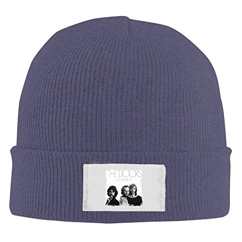 Creamfly Adult The Doors Band Wool Watch Cap Navy
