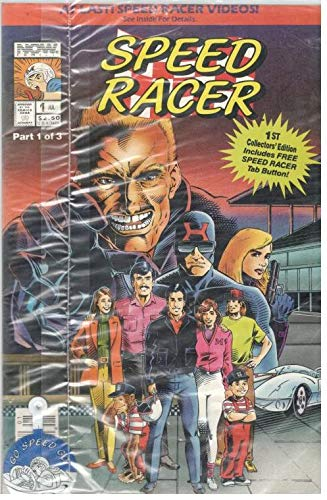 (Speed Racer Comic Issue 1 of 3 - Now Comics,Factory Sealed)