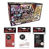 Yu-Gi-Oh! Cards Legendary Hero Decks - 5 Ultra Rare Trading Cards + 180 Card Protectors!